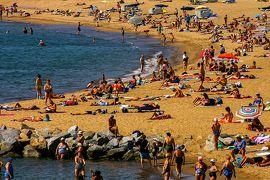 回顧録 4泊7日 スペイン バルセロナ・サラゴサ万博 その5 ツーリストバスで地中海とガウディ見学