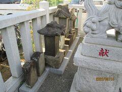 柏市の十余二・厳島神社・石仏