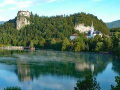 風光明媚なスロヴェニアのブレッド湖