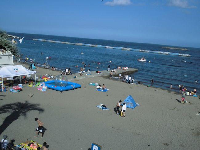 真夏の熱海サンビーチです。