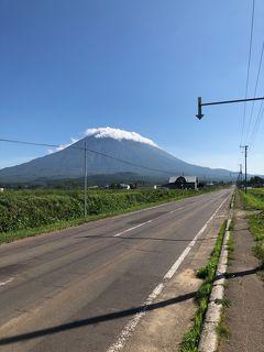北海道ほぼ一周ぼっちツーリング2019 3日目 大快晴と羊蹄山と小樽