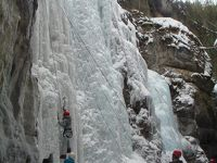2回目のジャスパー 冬のマリーン渓谷