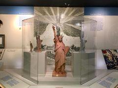 ニューヨークひとり旅  @自由の女神ミュージアム