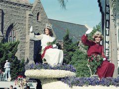 The Rose Parade, Pasadena, 1 January 1980.