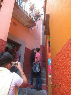 メキシコ 宝石箱をひっくり返したような街、グアナファト