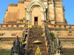 タイ4大王朝縦断の旅⑦ チェンマイ旧市街の2寺院を巡る