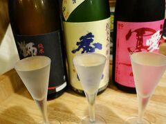 20200522-1 大阪 粉浜の麺屋爽月、昼から日本酒色々とうどんと