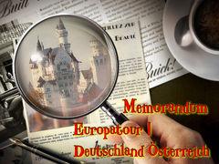 【備忘録】ロマンティックドイツとオーストリア・スイスアルプス・パリ9日間〔1〕《ドイツ・オーストリア編》 1992年 4月