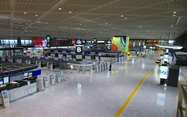2020 GW後の振替休日に閑散とした成田空港内を歩いてみた