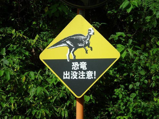 恐竜化石発掘体験に行ったときの旅行記です。<br /><br />なかなか自粛で旅行ができないので、気を紛らわすために4トラの日本地図を塗りつぶすべく、ずいぶん前の旅行記を作成しています。