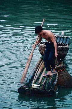 回顧録 1991年香港・中国旅行&調査 その4 漓江下り