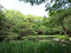 京都の春の終わりは青緑色と紺紫色 2020