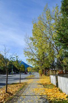 秋のカナディアンロッキーで過ごす15日間【13】バンフ散歩(2011/9/29)