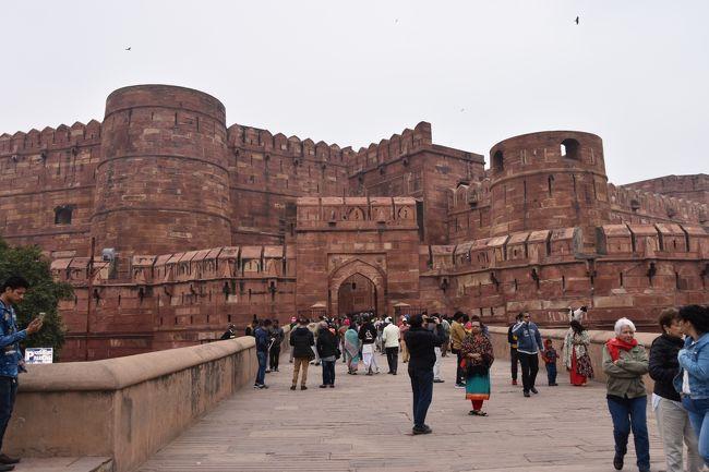 タージマハルへ行く旅 vol.8 アグラ城へ ~ インド ~