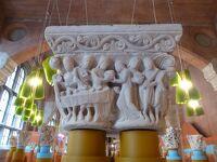休暇でロマネスク旅 トゥールーズ 1 ガーゴイルがお出迎え! in オーギュスタン美術館
