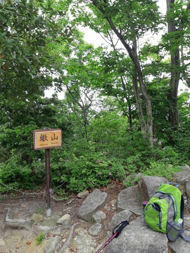 前回の続きで、今回は繖山の山頂を目指しました。<br />