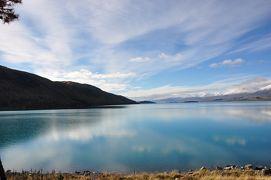 母と娘 ~NZ南島 湖求めて三千里~ 1日目