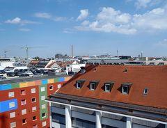 2018夏 フランス&ドイツ周遊 8日目 ホテル探検の後帰国 ミュンヘン→フランクフルトまでルフトハンザ