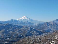 大月市・秀麗富嶽十二景6番『扇山』と7番『百蔵山』