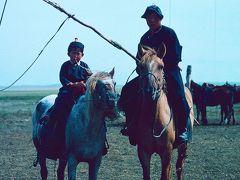 回顧録 1991年香港・中国旅行&調査 その10 遊牧民の住居調査ため草原へ