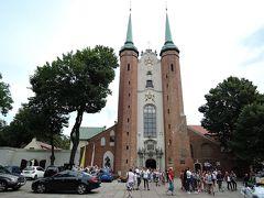 2019年夏 スロバキア・ポーランド旅行 港町グダンスク(ポーランド)3 オリーヴァ大聖堂・イェリトコフビーチ・ソポト