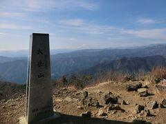 月例登山報告/奥多摩 大岳山・その3.大岳山に登頂!鋸尾根を下山。