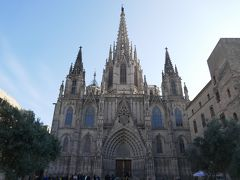 年末年始バルセロナ6日間ツアー4日目 フリータイム