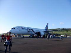 LATAM航空 ラパス~サンチアゴ~イースター島~イグアス搭乗記