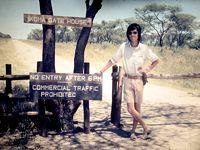 ウガンダからビクトリア湖を縦断して、セレンゲティに向かう