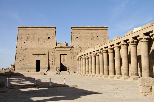 旅行会社の誇大広告に騙されたナイル川クルーズの旅 8 ナイルの真珠イシス神殿 その1