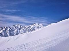 2017年3月 主人の先輩と白馬八方尾根スキー場の白い小屋へ。