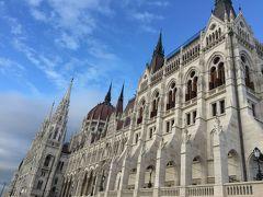 ブダペストでドナウ川沿いをのんびり散歩