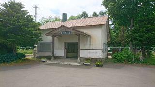 廃止された終着駅を訪ねました。