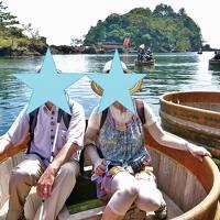 佐渡は超暑かった~!⑤ ☆矢島・経島のたらい舟☆