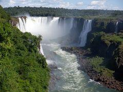 イグアスの滝ブラジル側・地球の裏側のルールは不思議・アスール イグアス~サンパウロ搭乗記