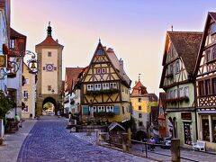 中世の街並み