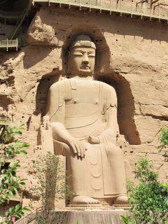中国河西回廊の旅⑥ 黄河の北岸、船でしか行けない世界遺産「炳霊寺石窟」