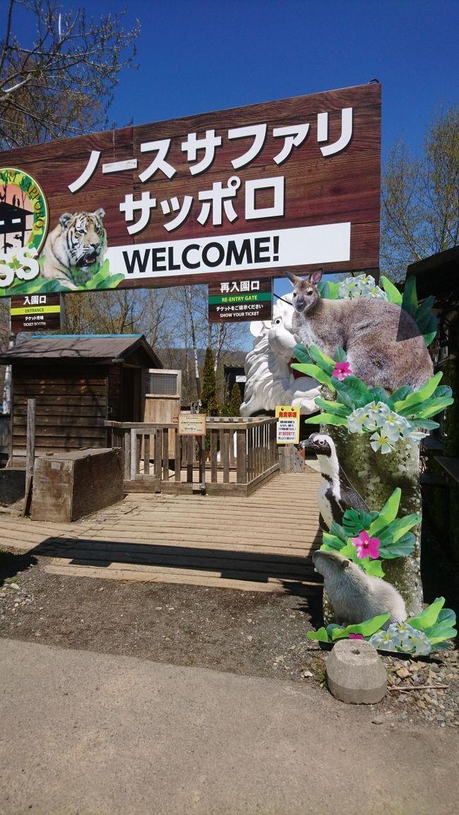 再開おめでとう。北海道のサファリパーク。