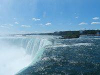 テーブルロックから見るナイアガラの滝◆ボストン・ナイアガラ・プリンスエドワードの旅《その9》
