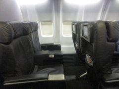 ユナイテッド航空 スターアライアンスゴールドでベーシックエコノミー カンクンへ