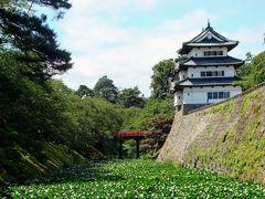 奥入瀬・弘前・白神山地、夏の青森周遊旅 ② (弘前公園を散策)