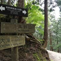 和歌山の世界遺産を歩きたいと息子が言うので その4は龍神温泉と熊野古道小辺路