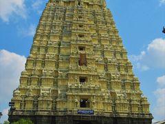 南&西インドの旅①② 成田からカーンチープラムの「エーカンバラナータル寺院 」へ