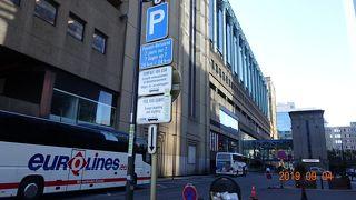 ブリュッセルは危険な街(?_?) 北駅にある「フリックス・バス」のバス停に行ってみた!