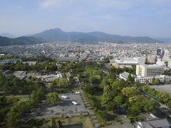 静岡県庁の展望台から市街を見てきた
