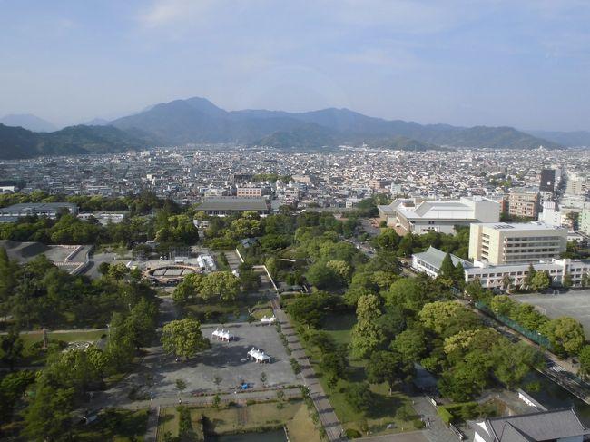 静岡県庁の展望台から周辺の景色を見てきました。