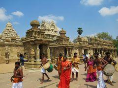 南&西インドの旅②-2 「カイラーサナータル寺院 」からマハバリープラム「ファイブ・ラタ」&「海岸寺院」へ