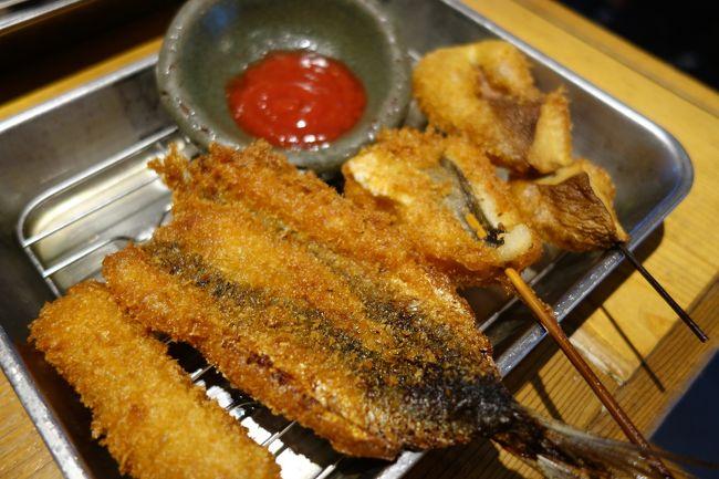 """友人と京橋で待ち合わせ。仕事の合間に昼ごはんでもと。あたしゃ、仕事の合間ちゃうけどね。何か希望はと聞かれ、""""二度漬け禁止""""のお店に。<br /><br />食後は大阪城公園のJO-TERRACE OSAKAで一服…なのですが、あまりの人の少なさに相方が唖然としてますね。仕事に関わる事らしいんで…"""