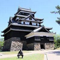堀尾吉晴が月山富田城から移転して隠岐・出雲24万石の拠点として縄張りした松江城に4年ぶり3度目の登城