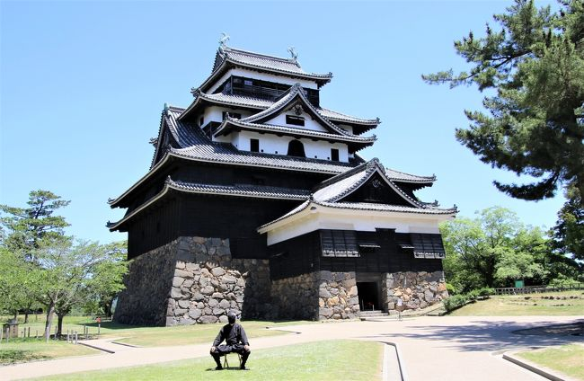 4年ぶり3度目の松江城登城